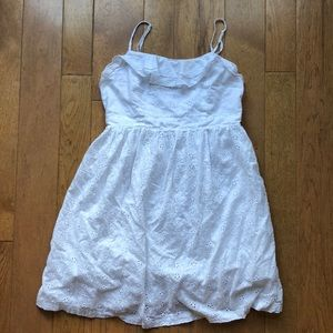 Aeropostale White eyelet Dress Medium
